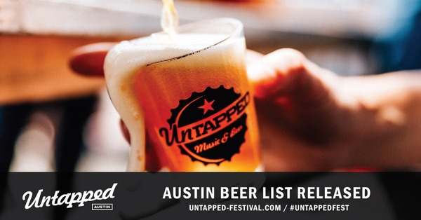 Untapped Festival Austin announces list of 334 craft beers ...