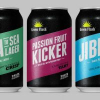 Green Flash cans lineup BeerPulse