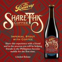 The Bruery Share This Imperial Coffee Stout label