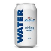 labatt water can banner