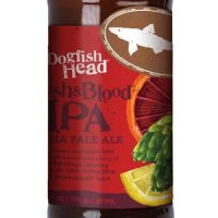 Dogfish Head Flesh & Blood IPA 12OZ BTL crop