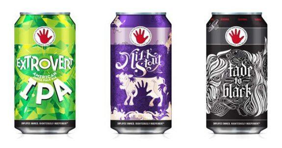 Left Hand Brewing cans lineup BeerPulse