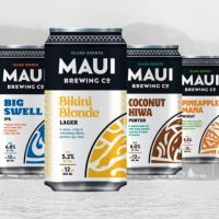 Maui Brewing cans