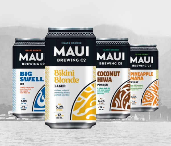 Maui Brewing Company debuts new look, logo and packaging