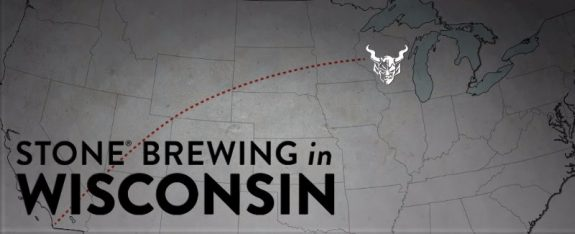 Stone Brewing Wisconsin banner