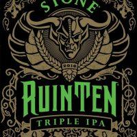 Stone RuinTen Triple IPA label BeerPulse