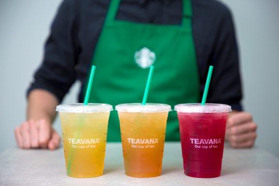 Teavana Starbucks Anheuser-Busch BeerPulse