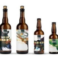 Upland Brewing Sour bottle lineup