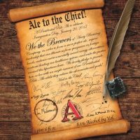 Avery Ale to the Chief 2016 label
