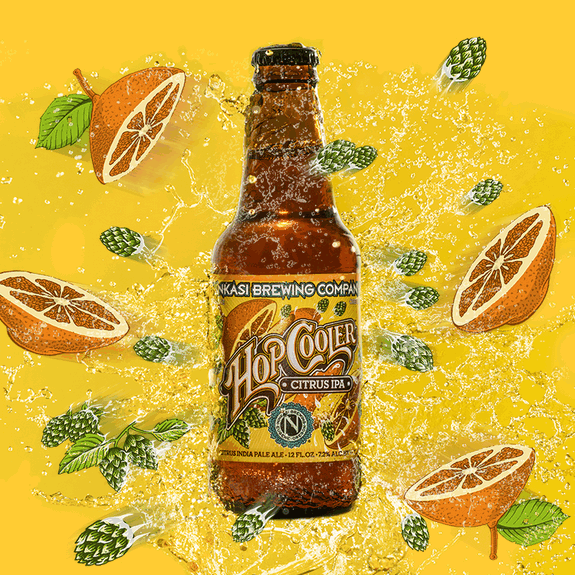 Ninkasi Hop Cooler BeerPulse