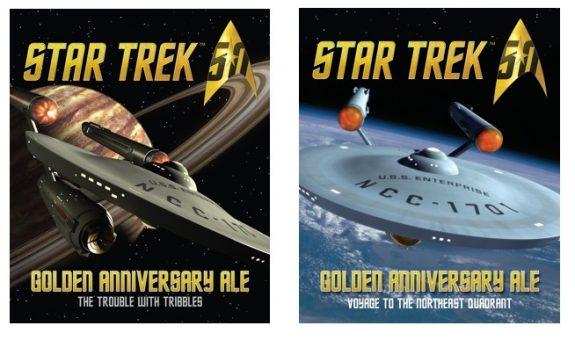 Shmaltz Star Trek 50 Golden Anniversary Ale