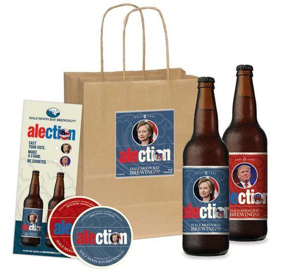 Half Moon Bay Brewing Hillary Beer Gift Bag