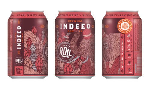 Indeed Let It Roll IPA cans BeerPulse