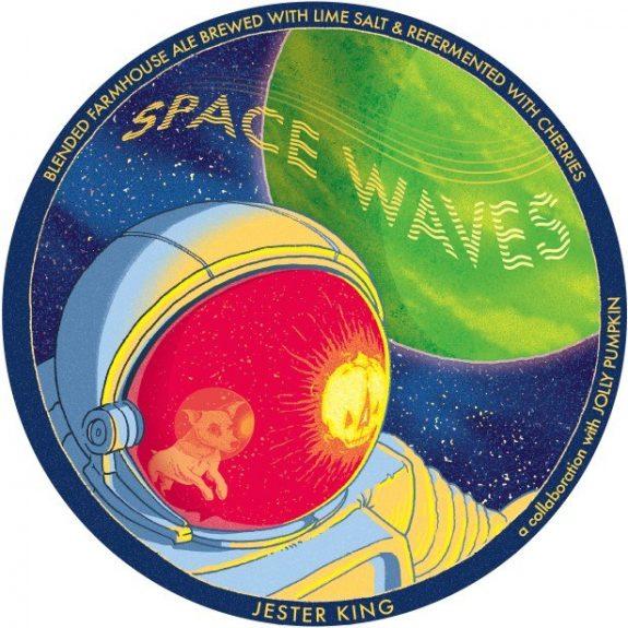 Jester King Jolly Pumpkin Space Waves label