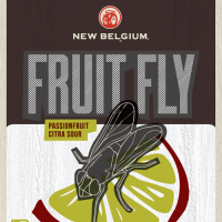 New Belgium Fruit Fly label