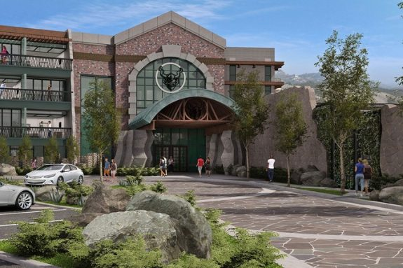 Stone Brewing Co. Hotel Front