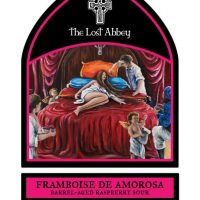 The Lost Abbey Framboise de Amorosa label BeerPulse