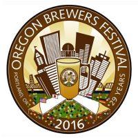 Oregon Brewers Festival 2016 logo BeerPulse