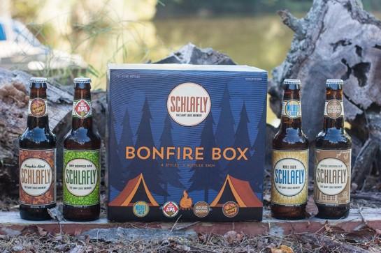 Schlafly Bonfire Box Sampler Pack BeerPulse