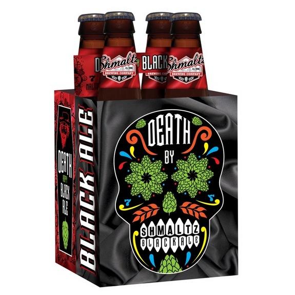 Shmaltz Death Hoppy Black Ale 2016