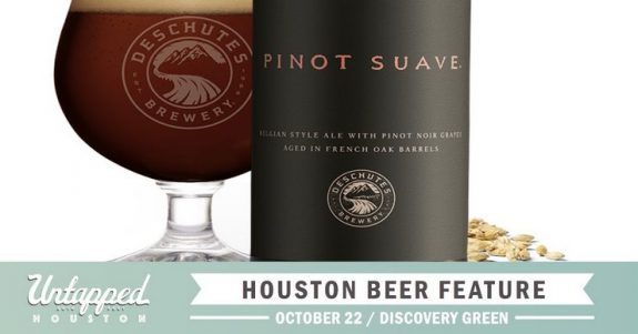 Untapped Fest Houston Beer Feature Deschutes Pinot Suave