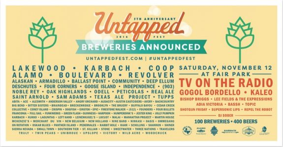 Untapped Fest Dallas BeerPulse banner
