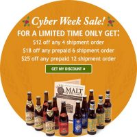 Beer of the Month Club Cyber Week Sale