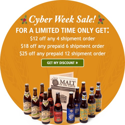 The microbrewed beer of the month club and the rare beer for Craft beer of the month club coupon