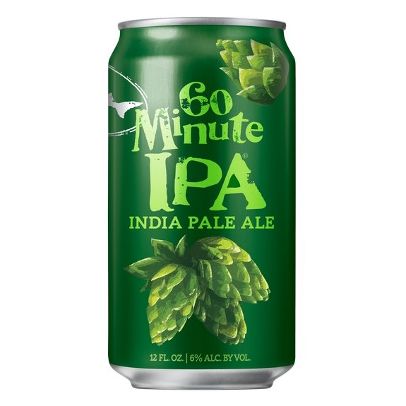 Dogfish Head 60 Minute IPA can BeerPulse site