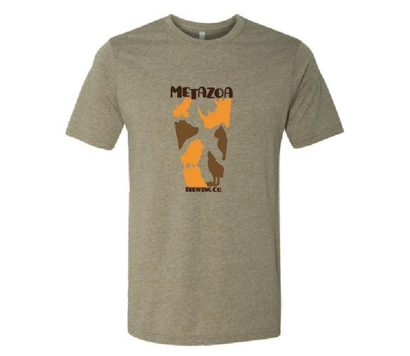 Metazoa Brewing t-shirt