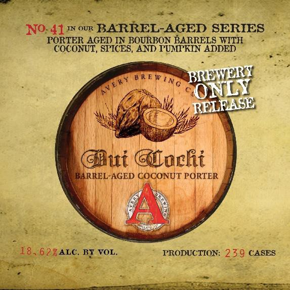 Avery Dui Cochi label BeerPulse