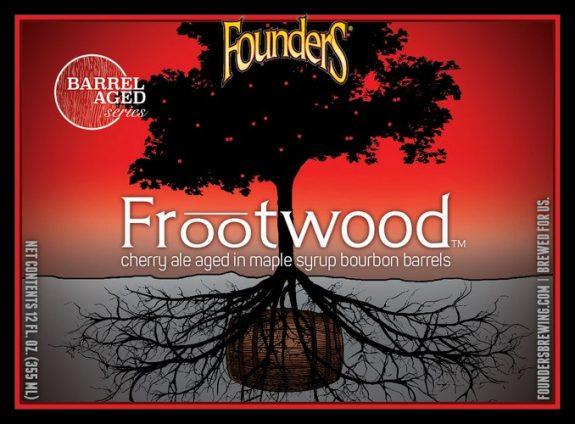 Founders Frootwood label BeerPulse