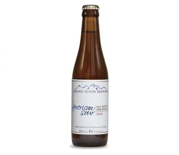 Grand Teton American Sour 2015 bottle
