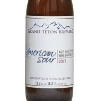 Grand Teton American Sour 2015 bottle