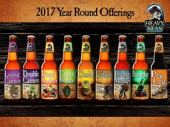 Heavy Seas Year Round Offerings