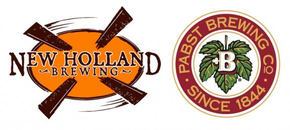 New Holland Pabst Brewing logos BeerPulse