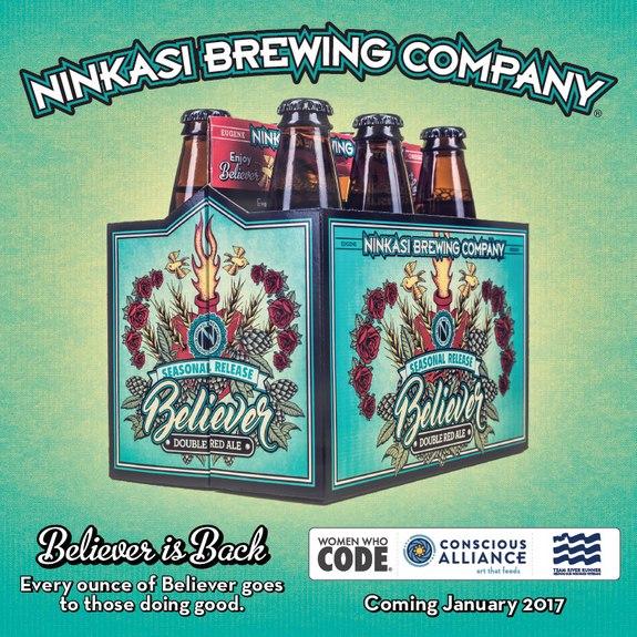 Ninkasi Believer Double Red Ale 6pk BeerPulse site