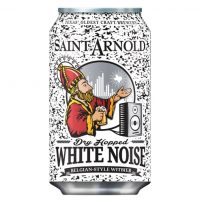Saint Arnold Dry Hopped White Noise can BeerPulse