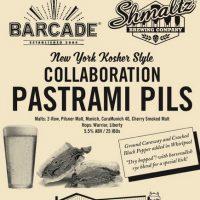Shmaltz Barcade PASTRAMI PILS 2016