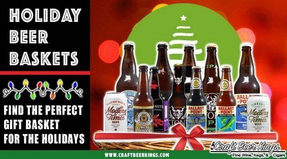 Craft Beer Kings holiday beer baskets banner BeerPulse
