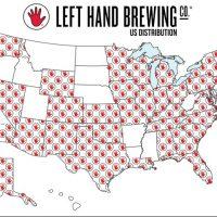 left hand brewing us distribution map for website-jan2017