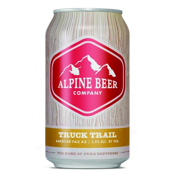 Alpine Truck Trail can BeerPulse