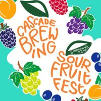 Cascade Brewing Sour Fruit Fest 2017 poster BeerPulse