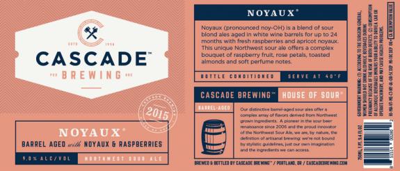 Cascade Noyaux label BeerPulse