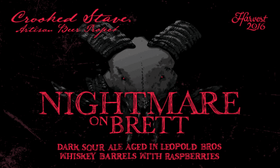 Crooked Stave Nightmare on Brett Raspberry label