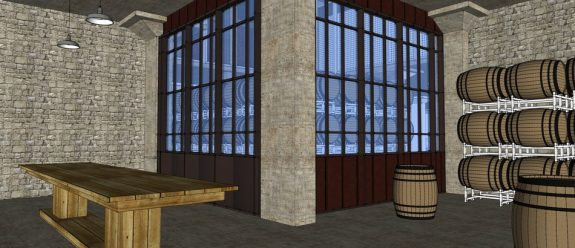 Guinness Brewery Barrel House Interior