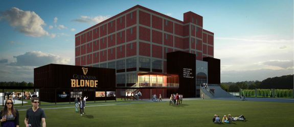 Guinness Brewery Exterior