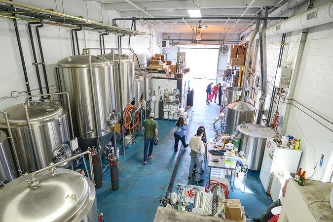 Riverwalk Brewing brewhouse BeerPulse