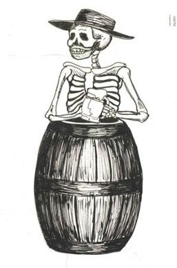 Rogue Dead Guy original sketch