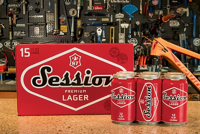 Session Premium Lager now available in 12 oz. aluminum cans - The ...